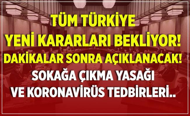 Sokağa çıkma yasağı mı geliyor? Cumhurbaşkanı Erdoğan açıklama yapacak!