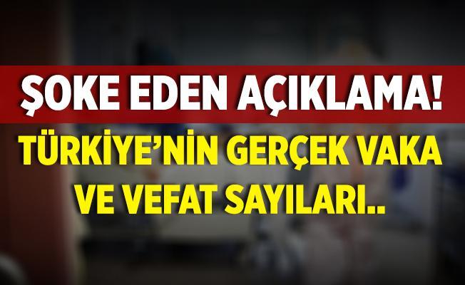 Şoke eden iddia! Türkiye'nin gerçek koronavirüs vaka ve vefat sayıları..