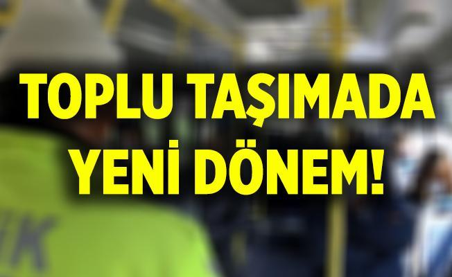 Son dakika Cumhurbaşkanı Erdoğan açıkladı! Toplu taşımada yeni dönem! Artık yasaklandı!
