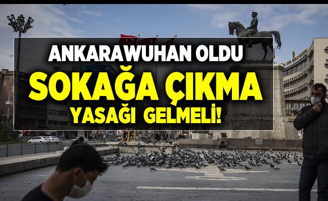Son dakika Ankara'da Prof. Dr. Mustafa Cankurtaran'dan sokağa çıkma yasağı açıklaması! 14 gün boyunca sokağa çıkma yasağı gelmeli