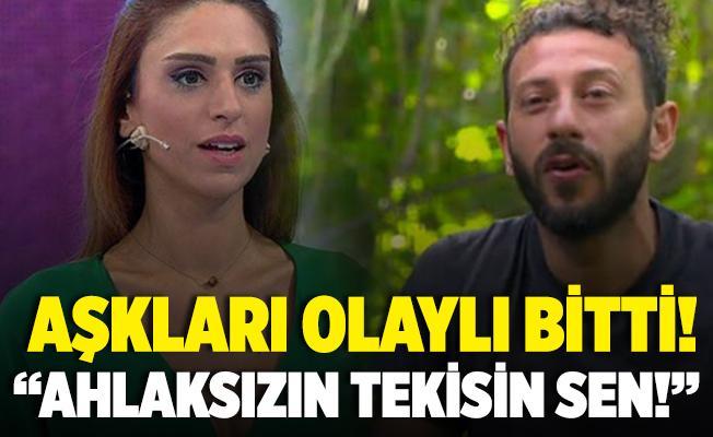 Survivor Ardahan ve Tuğçe Ergişi aşkında olaylı son! Ahlaksızın tekisin sen!