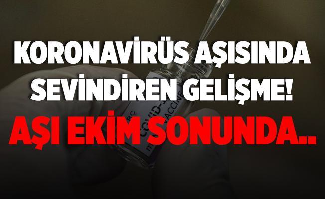 Türk bilim insanı duyurdu! Koronavirüs aşısında sevindiren gelişme! Aşı önümüzdeki ay hazır olabilir!