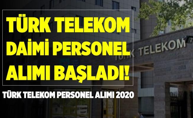 Türk Telekom İŞKUR üzerinden daimi personel alımı yapıyor! Türk Telekom personel alım başvuru sayfası