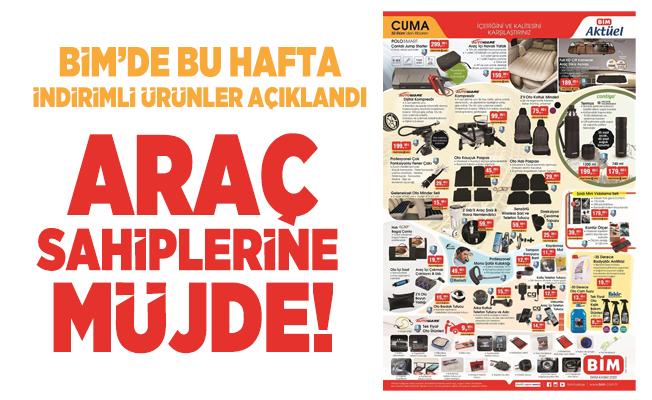 30 Ekim BİM Aktüel ürünler kataloğu yayımlandı! İndirimli ürünler açıklandı