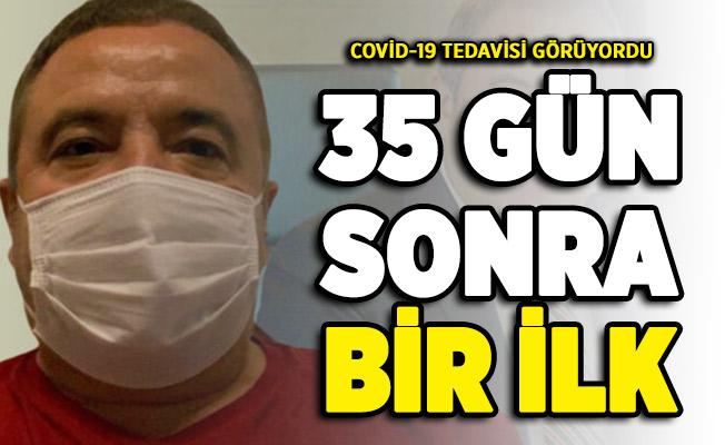 35 gün sonra bir ilk! Covid-19 tedavisi görüyordu ! Muhittin Böcek kimdir?