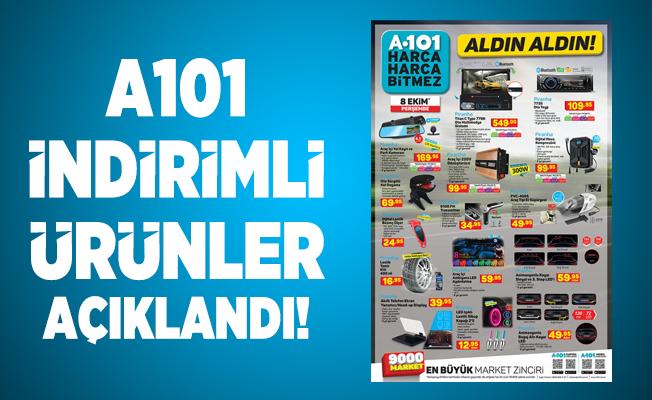 A101 Aktüel ürünler satışa çıktı! A101 aktüel ürünler kataloğu! Aldın aldın ürünler