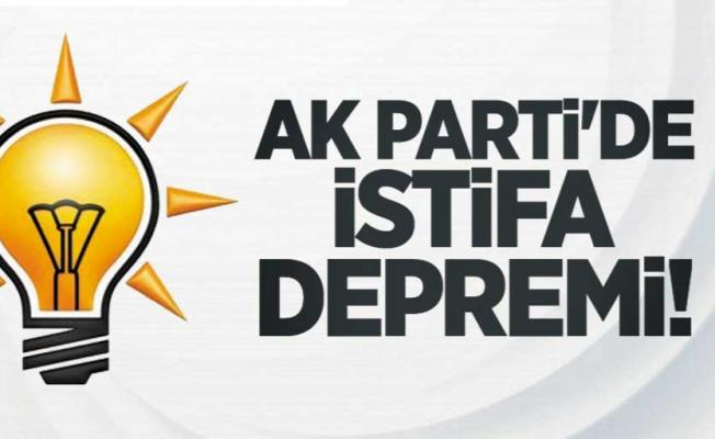 AK Parti'de şok istifa! İl Kadın Kolları Başkanı istifa etti