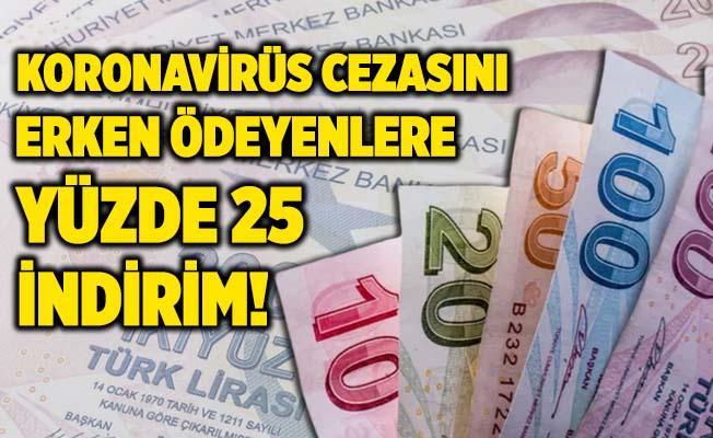 Antalya'da koronavirüs cezasını erken ödeyenlere yüzde 25 indirim!