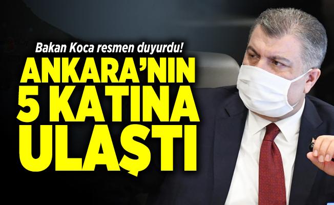 Bakan Koca'dan İstanbul'daki corona virüs hakkında korkutan açıklama!  Ankara'nın 5 katına ulaştı