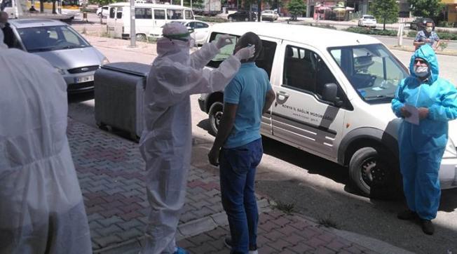Corona virüs salgının Adıyaman'da  alarm verildi! Tam 118 ev karantinaya alındı