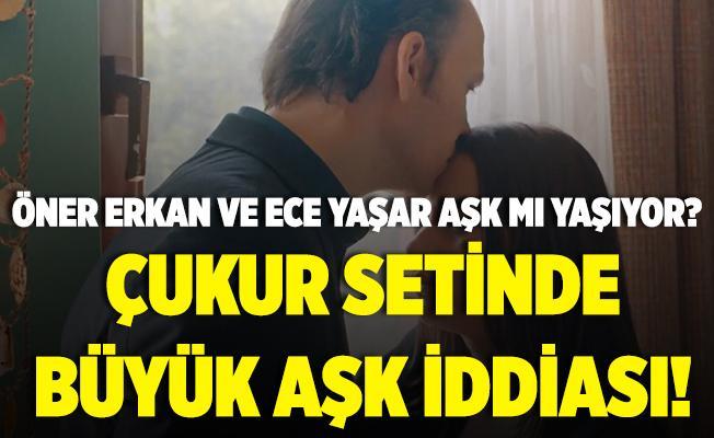Çukur setinde büyük aşk iddiası! Öner Erkan ile Ece Yaşar aşk mı yaşıyor?