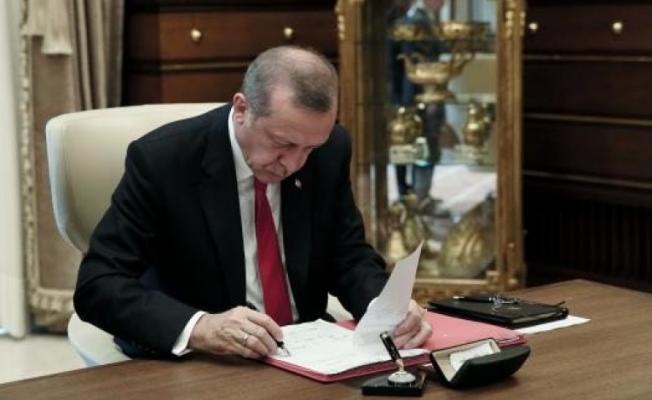 Cumhurbaşkanı Erdoğan onayladı! Kritik atamalar yapıldı