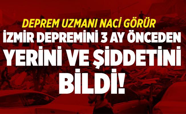 Deprem Uzmanı Naci Görür İzmir depremini 3 ay önceden yerini ve şiddetini bildi!