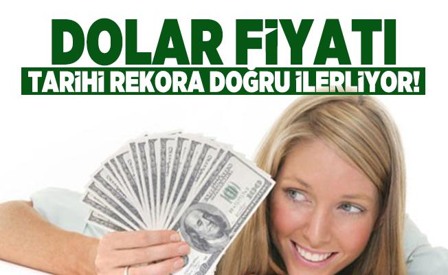 Dolar fiyatı tarihi rekora doğru ilerliyor! Euro ve sterlinde görülmemiş yükseliş!