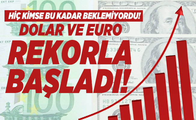 Dolar ve euro rekorla başladı! 7 Ekim 2020 Son dakika canlı döviz kuru