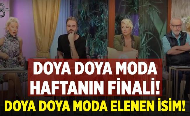 Doya Doya Moda kim elendi? TV8 Doya Doya Moda haftanın birincisi! 9 Ekim Doya Doya Moda elenen isim!