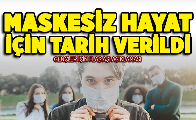 DSÖ'den gençler için aşı açıklaması! Maskesiz hayat için tarih verildi