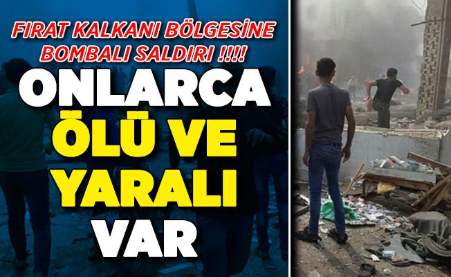 El Bab'ta Bombalı Terör Saldırısı ! Onlarca Ölü ve Yaralı Var