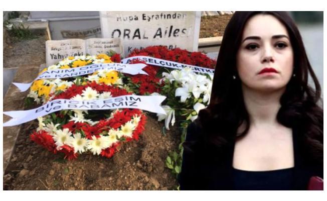 Eşini kaybeden Özgü Namal, cenazeye katılamadı! Çelenk gönderdi!
