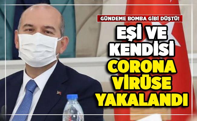 Gündeme bomba gibi düştü! İçişleri Bakanı Süleyman Soylu corona virüse yakalandı