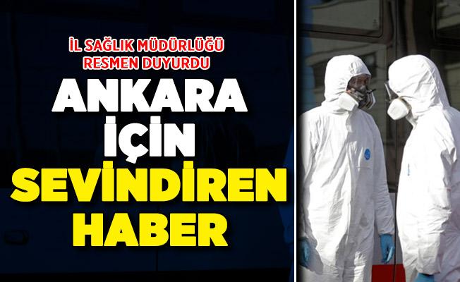İl Sağlık Müdürlüğü resmen duyurdu: Ankara için müjdeli haber