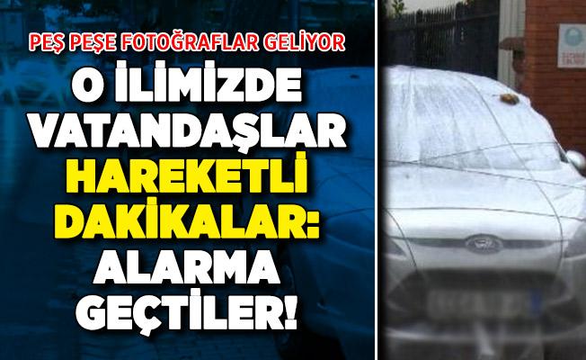 İstanbul'da vatandaşlar alarma geçti: Peş peşe fotoğraflar geliyor