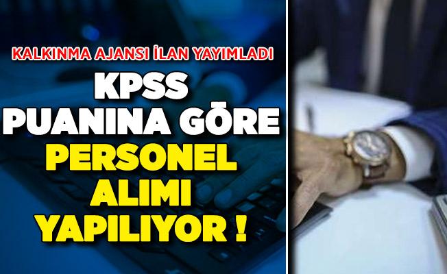 Kalkınma Ajansı KPSS Puanına Göre Personel Alımı Yapıyor
