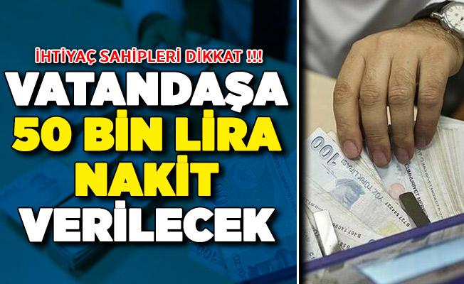 Kamu Bankası İhtiyaç Sahiplerine 50 Bin Lira Verecek !