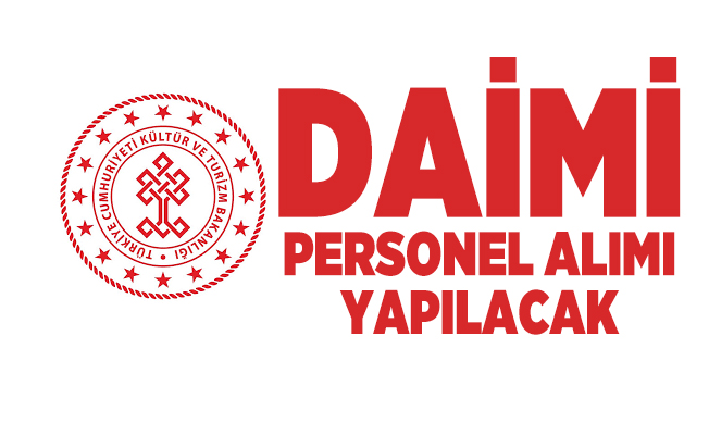 Kültür ve Turizm Bakanlığı daimi personel alımı yapacak! Başvurular 9 Ekim'de sona erecek