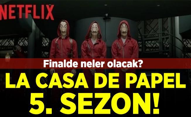La Casa De Papel 5. sezon fragmanı yayınlandı mı? La Casa De Papel 5. sezon! Netflix La Casa De Papel'in finaliyle ilgili flaş iddia!
