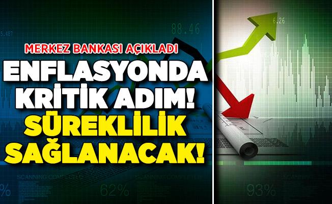 Merkez Bankasından Kritik Enflasyon Açıklaması !