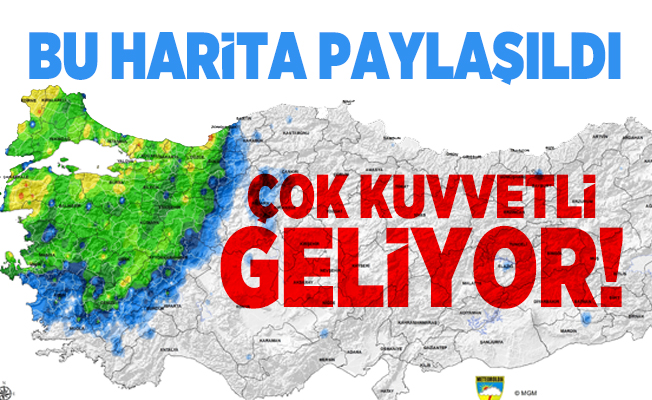 Meteorolojiden kritik uyarı! İstanbul, İzmir, Çanakkale başta olmak üzere çok sayıda ile çok kuvvetli sağanak yağış geliyor!