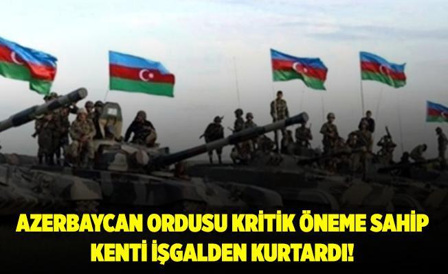Milli Savunma Bakanlığı duyurdu! Karabağ bölgesindeki kritik bölge Ermenistan işgalinden kurtarıldı!