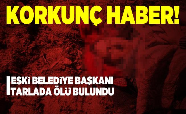 Niğde Eski Belediye Başkanı Mahmut Durak 83 yaşındaki bir kişi tarafından öldürüldü!
