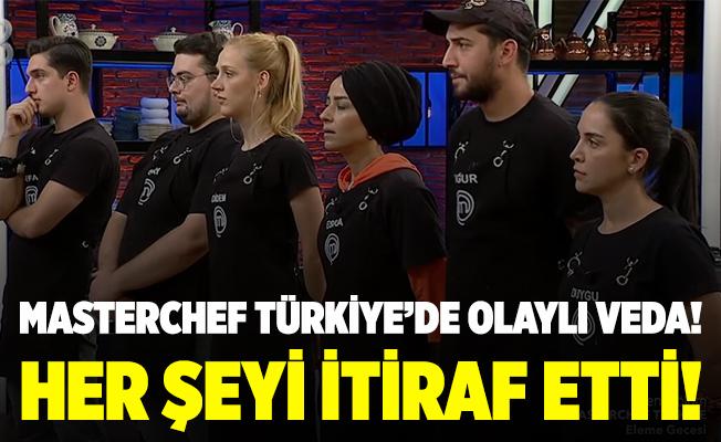 Olaylı veda! Her şeyi itiraf etti! MasterChef Türkiye elenen isim belli oldu! MasterChef Türkiye'de dün akşam kim elendi?