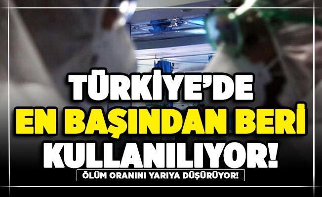Ölüm oranını yüzde 47 düşürdüğü söylenen ilaç Türkiye'de salgının başından beri kullanılıyor