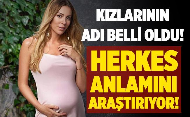Sinem Kobal ve Kenan İmirzalıoğlu çiftinin kızlarının ismi belli oldu! Herkes anlamını araştırıyor! Sinem Kobal ve Kenan İmirzalıoğlu bebeğinin adı ne?