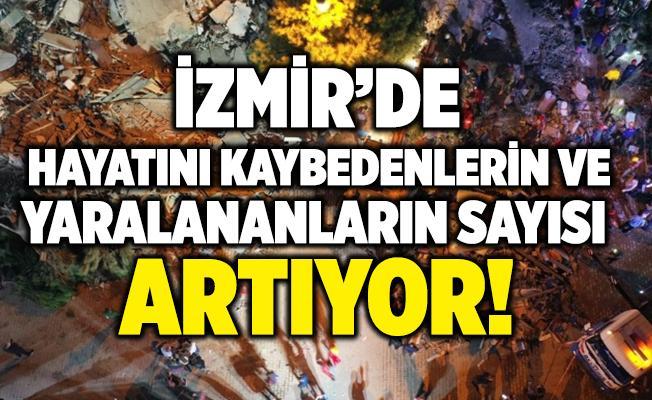 Son dakika İzmir'de can kaybı ve yaralıların sayısı artıyor!