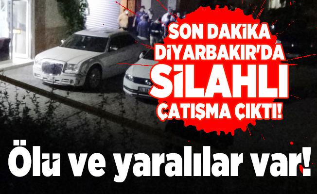 Son dakika Diyarbakır'da silahlı çatışma çıktı! Ölü ve yaralılar var!