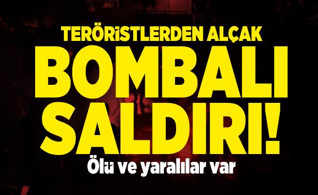 Teröristlerden alçak bombalı saldırı! Ölü ve yaralılar var