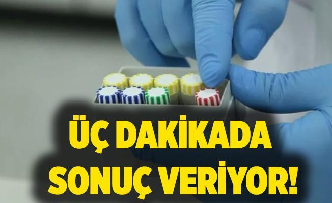 Üç dakikada sonuç veren koronavirüs testi geliştirildi!
