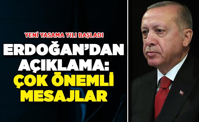 Yeni Yasama Yılı Başladı ! Cumhurbaşkanı Erdoğan'dan Önemli Açıklamalar
