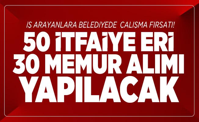 İstanbul Beyoğlu Belediyesi 50 itfaiye eri 30 memur alımı yapacak