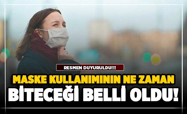 Prof. Dr. Mehmet Ceyhan maske kullanımının ne zaman biteceğini açıkladı