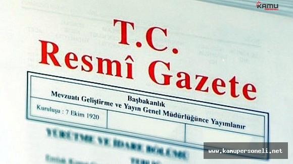 26 Ağustos Bakanlıklara Ait Atama Kararları Resmi Gazete'de