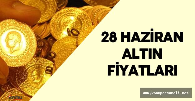 28 Haziran Altın Fiyatları ( Çeyrek Altın , Gram Altın ve Cumhuriyet Altını Fiyatları)