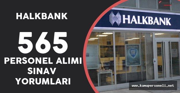 5 Kasım Halkbank Personel Alımı Sınav Yorumları, Sorular ve Cevaplar