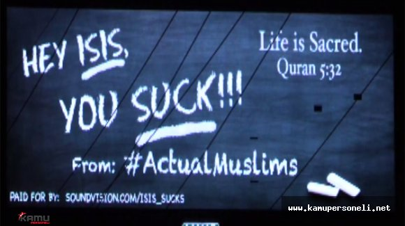 ABD'li Müslüman Gruptan DAEŞ'e İğrençsin Mesajı