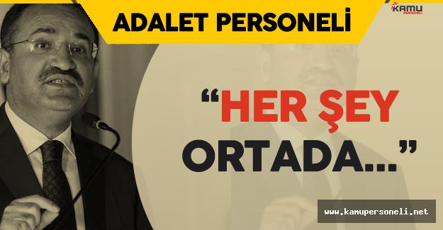 """Adalet Bakanı Bozdağ: """" Bu Darbe Girişimini FETÖ'nün Yaptığı Gün Gibi Ortada"""""""