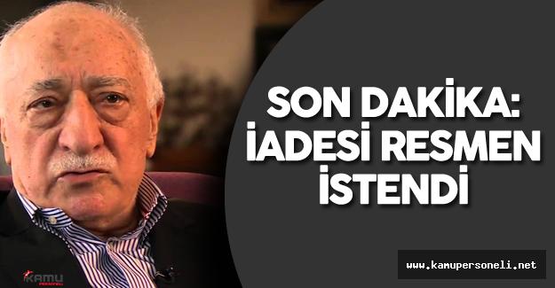 """Adalet Bakanı'ndan Son Dakika Açıklaması : """"4 Ayrı Dosyadan Fetullah Gülen'in İadesi İstendi"""""""
